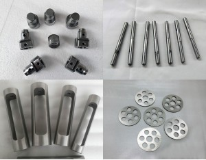 tungsten fabricated parts