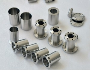 titanium machined parts